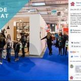 Alarme De Clerck : post Facebook salon