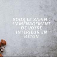 Béton Déco : publication Facebook aménagement