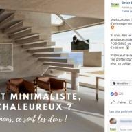 """Béton Déco : publication Facebook """"intérieur"""""""