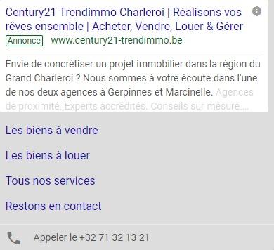 Century21 Trendimmo : Google Search