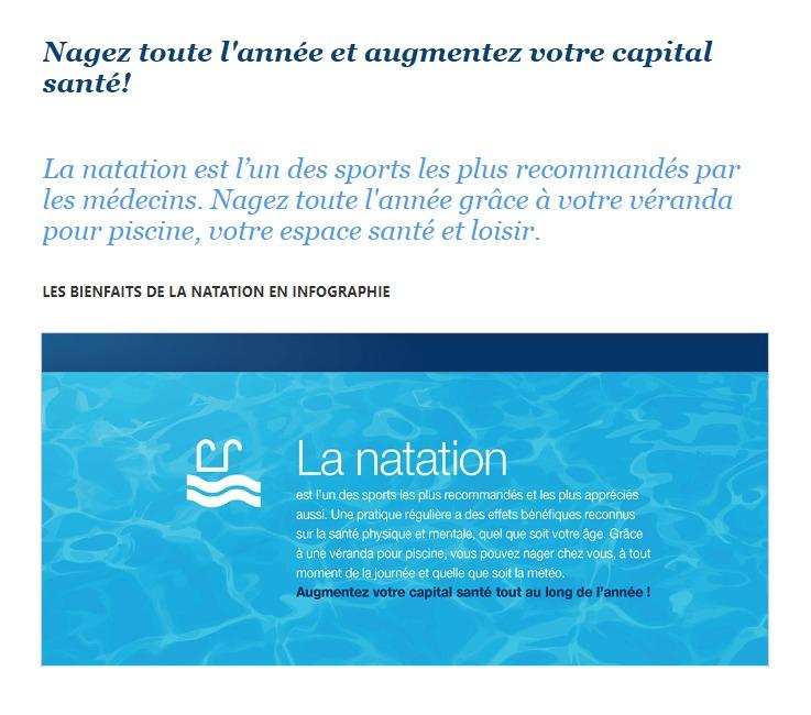 Cover Concept - article : Les bienfaits de la natation