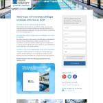 Cover Concept : landing page catalogue
