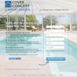 Cover Concpet : landing page devis