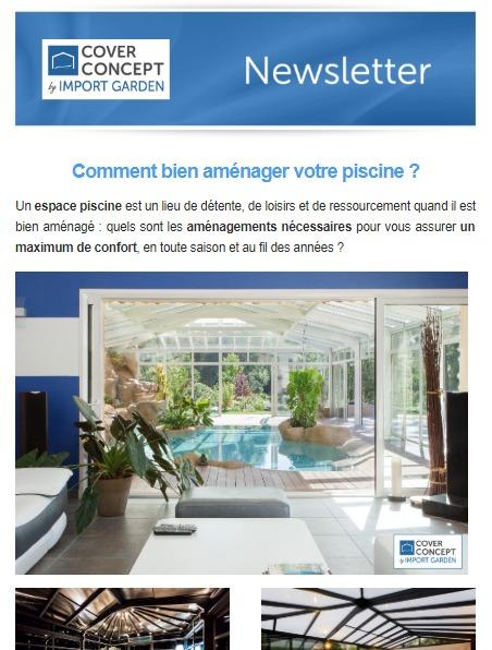 Cover Concept : aménager votre espace piscine