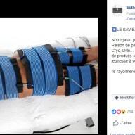 Esthétique Technologies : publication Facebook