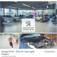 Garage De Ro - publication Facebook 3