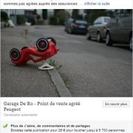 Garage De Ro - publication Facebook 4