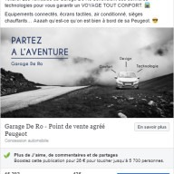 Garage De Ro - publication Facebook 5