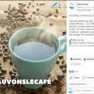 Humihouse : publication Facebook cafe