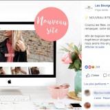 Les Bourgeoises : publication Facebook site