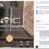 Mister Costumes : post Facebook