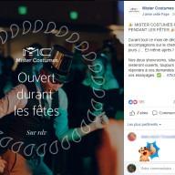 Mister Costumes : post Facebook fêtes