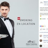 Mister Battery : post Facebook location