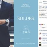 Mister Costumes : post Facebook soldes