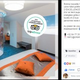 Orange Hotel : post Facebook attestation