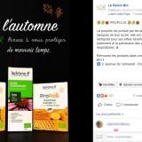 Relais Bio : publication Facebook automne