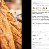 Relais Bio : publication Facebook pain