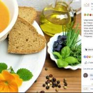 Relais Bio : publication Facebook soupe