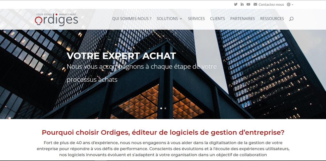 Optimisation SEO du site d'Ordiges