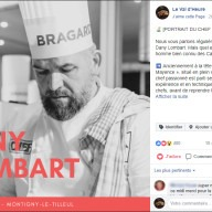 Val d'Heure : post Facebook Dany Lombart