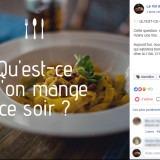 Val d'Heure : post Facebook repas