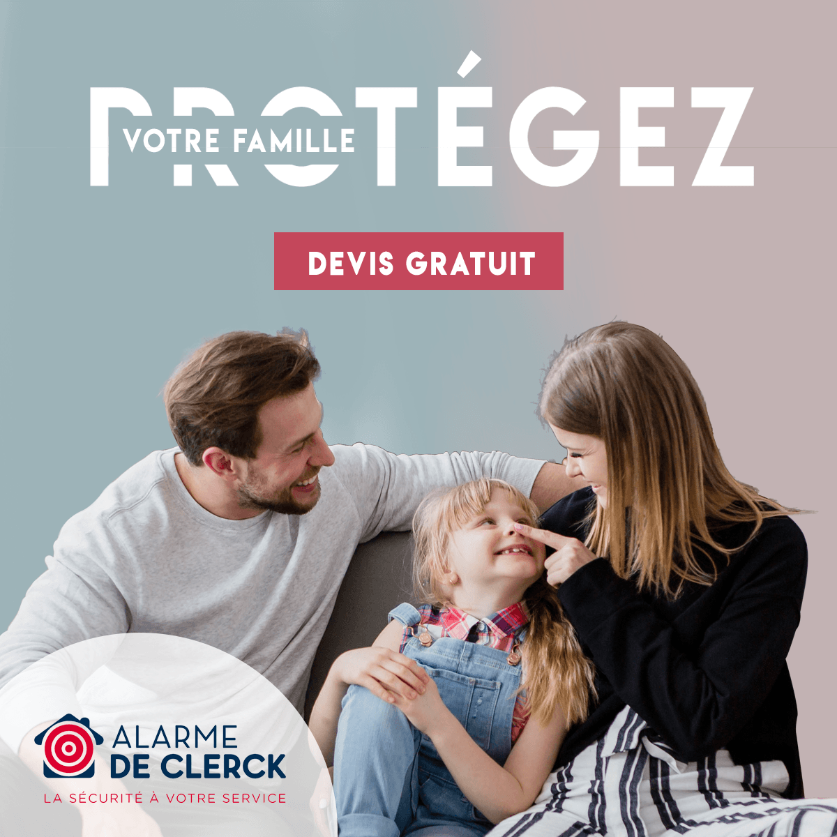 Alarme De Clerck : pub Display