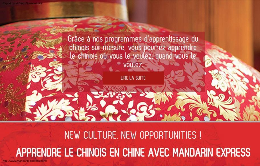 Mandarin Express : spécialiste linguistique chinois
