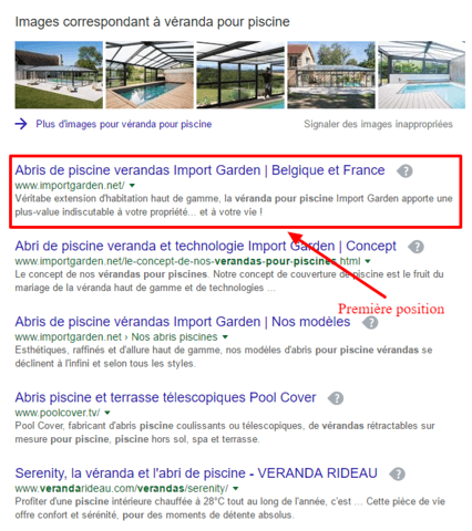 SEO : recherche Google