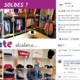 Etcetera publication Facebook soldes