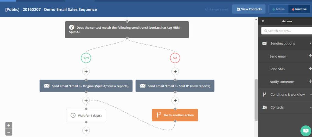 ActiveCampaign Workflows