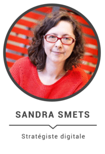 Sandra Smets : stratégiste digitale